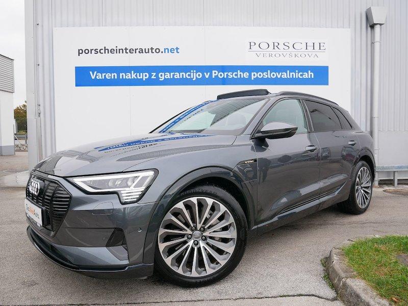 Audi e-tron 55 quattro - SAMO 4992 KILOMETROV