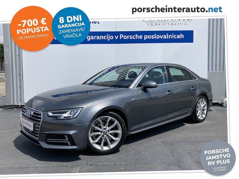 Audi A4 2.0 TDI S line Limited Edition - SLOVENSKO VOZILO