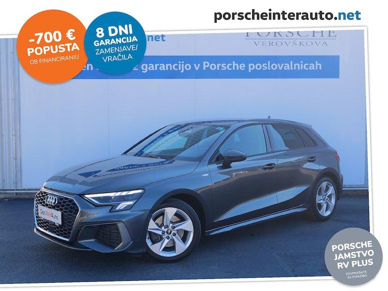 Audi A3 Sportback 35 TDI S line S tronic - NOVI MODEL -SLO