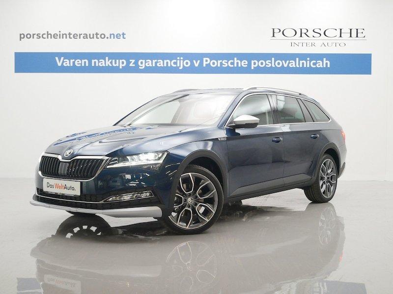 Škoda Superb Combi 4x4 2.0 TDI Scout DSG SLOVENSKO VOZILO