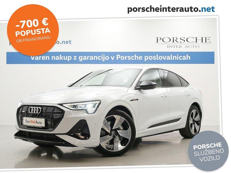 Audi e-tron e-tron Sportback 55 quattro S line SLO