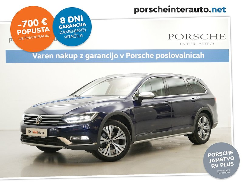 Volkswagen Passat Alltrack 4motion 2.0 TDI BMT SCR DSG