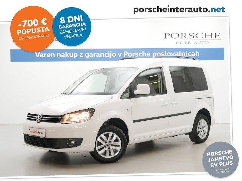 Volkswagen Caddy 1.6 TDI Family - SLOVENSKO VOZILO