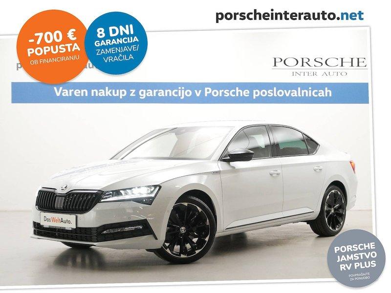 Škoda Superb 1.5 TSI Sportline DSG - SLOVENSKO VOZILO