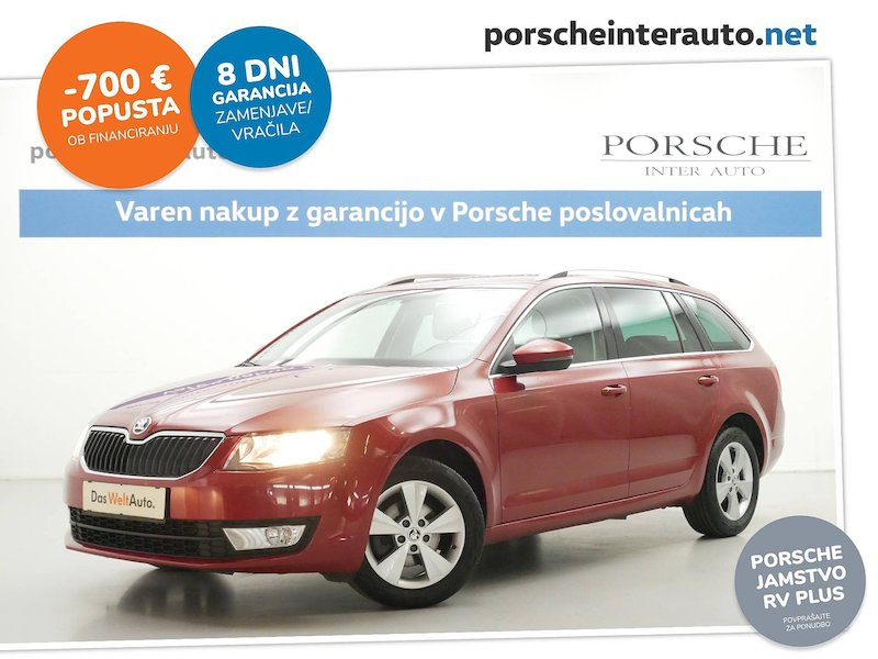 Škoda Octavia Combi 1.6 TDI Elegance - SLOVENSKO VOZILO