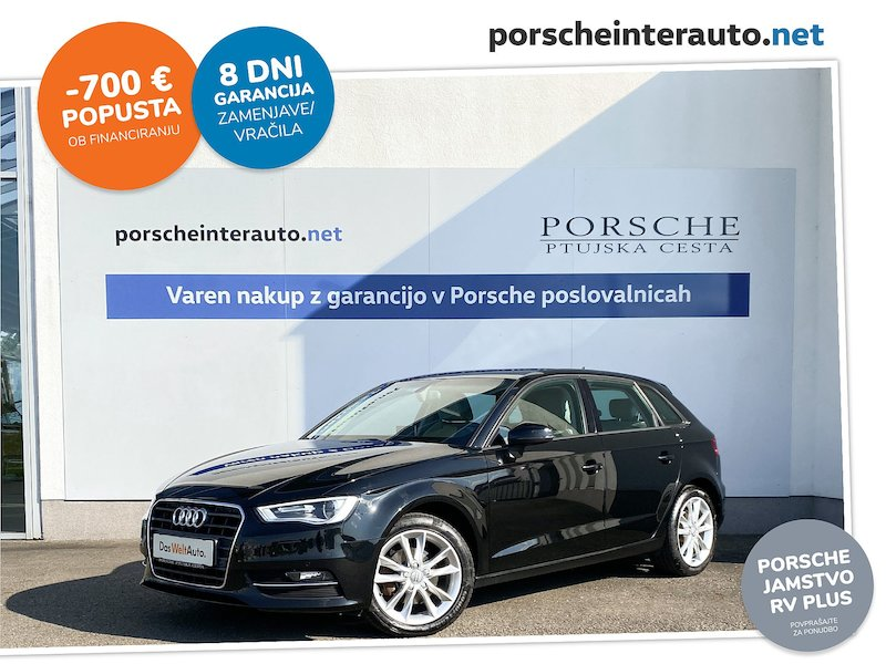 Audi A3 Sportback 2.0 TDI clean diesel Attraction S-tronic