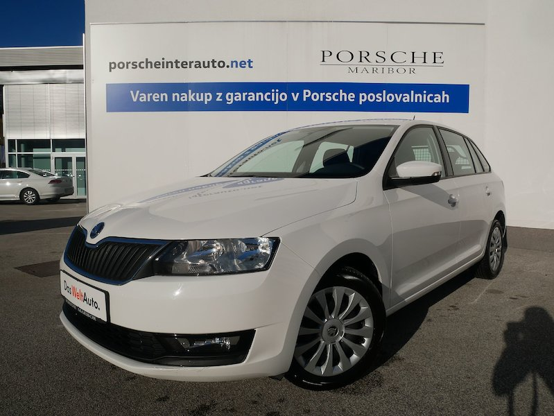 Škoda Rapid Spaceback 1.6 TDI Active - TOVORNO