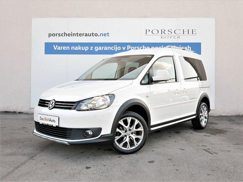 Volkswagen Caddy Cross 1.6 TDI - SLOVENSKO VOZILO