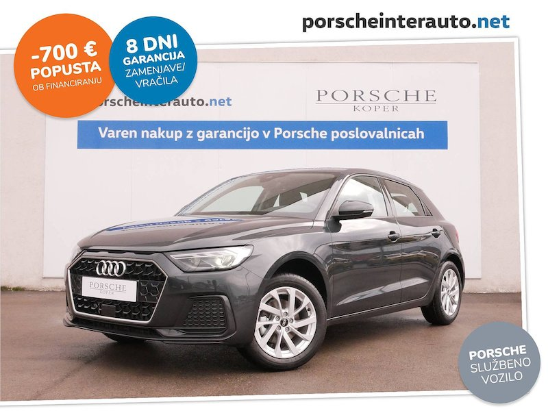 Audi A1 Sportback 30 TFSI Advanced - SLOVENSKO VOZILO