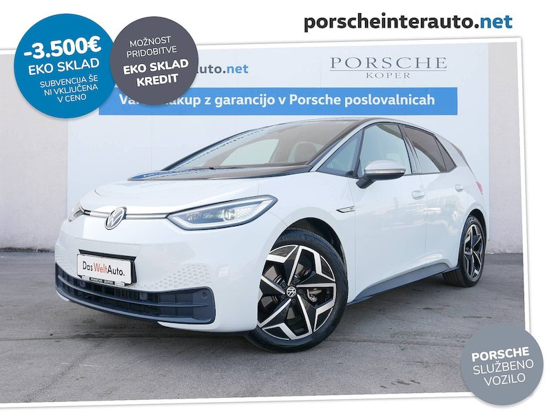 Volkswagen ID.3 1st Plus - SLOVENSKO VOZILO
