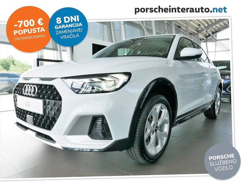 Audi A1 citycarver 30 TFSI - SLOVENSKO VOZILO