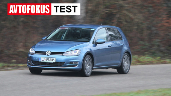 VW Golf 7 2.0 TDI 110 kW, 150 KM Highline TEST (2013-2020)