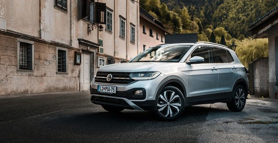 Novi T-Cross že od 16.206 €!