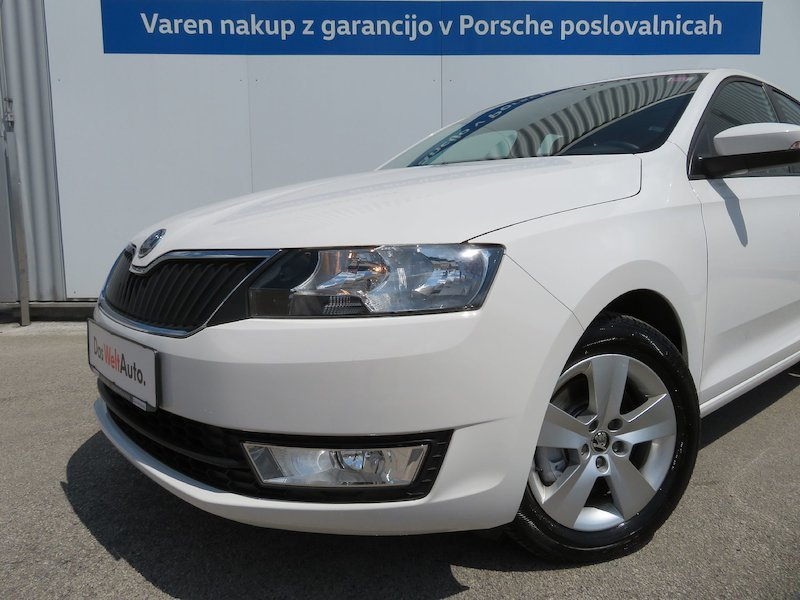 Škoda Rapid Spaceback 1.6 TDI Ambition5